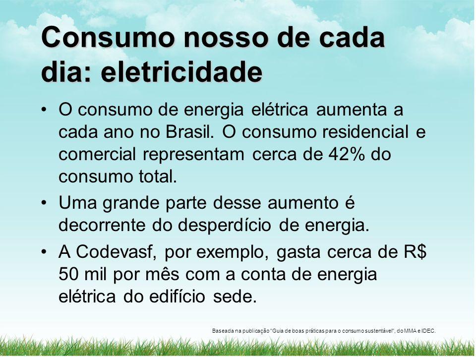 Consumo nosso de cada dia: eletricidade