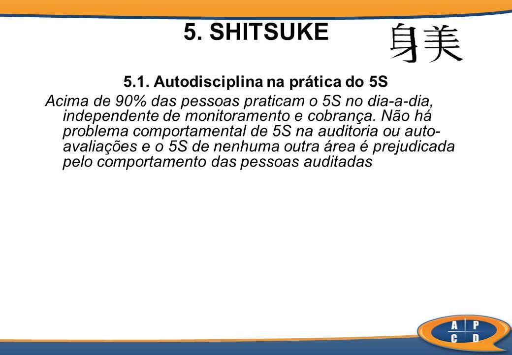 5.1. Autodisciplina na prática do 5S