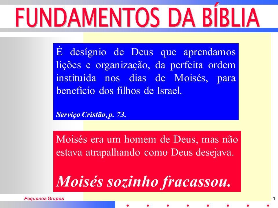 Moisés sozinho fracassou.