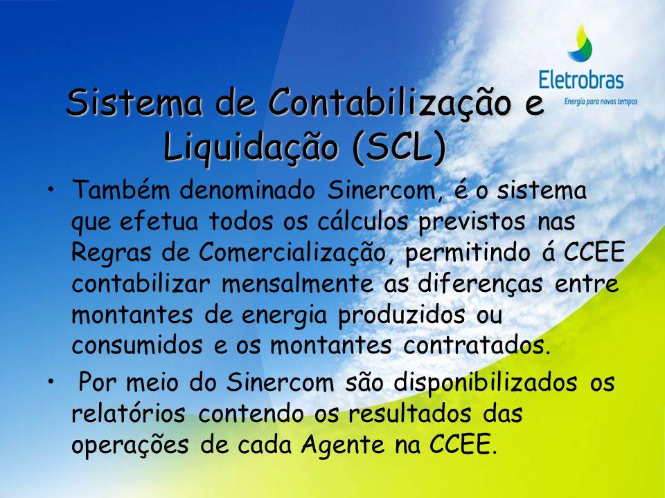 Sistema de Contabilização e Liquidação (SCL)