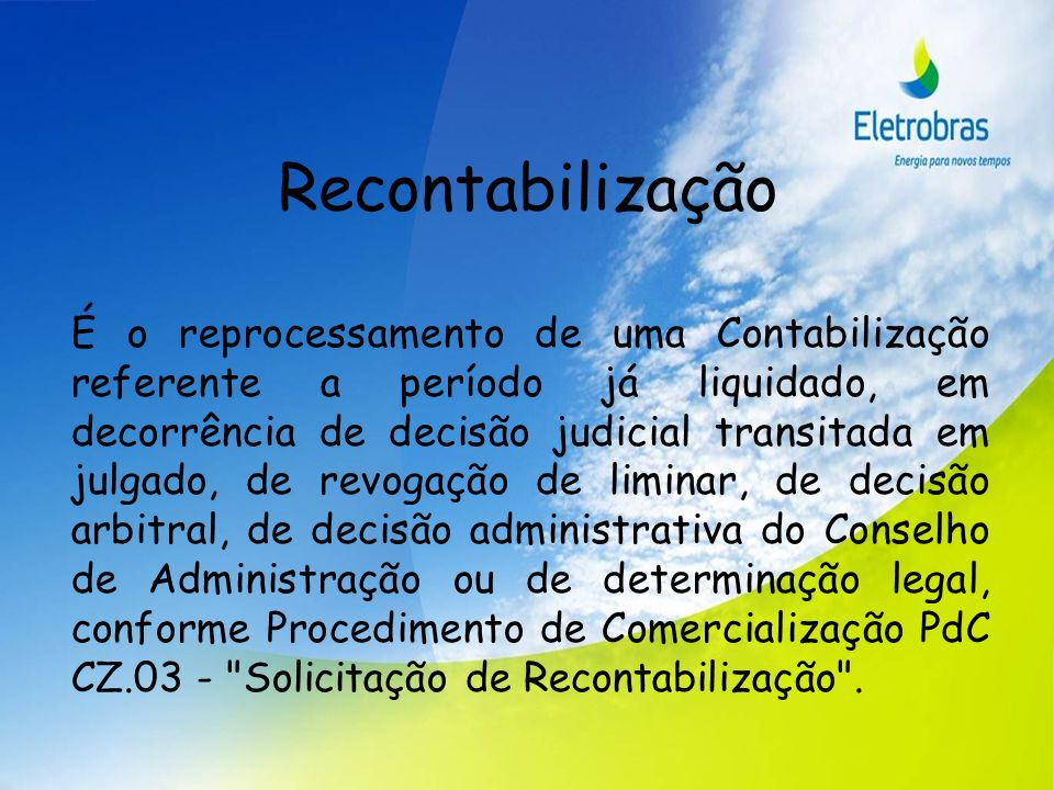 Recontabilização