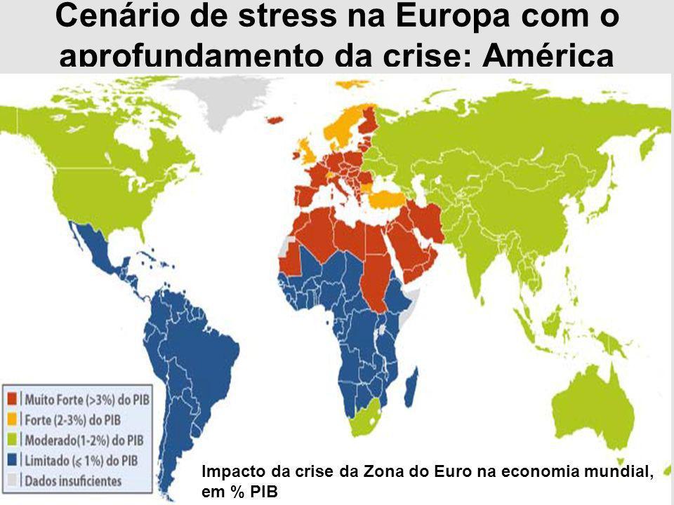 Cenário de stress na Europa com o aprofundamento da crise: América Latina é a região menos afetada