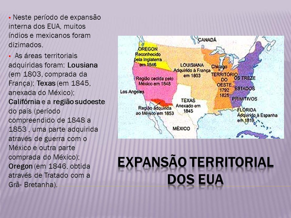 Expansão territorial dos eua