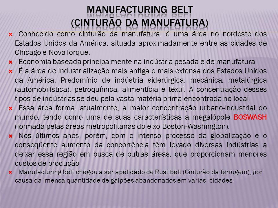 Manufacturing Belt (cinturão da manufatura)
