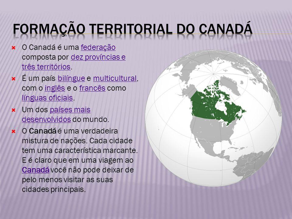 Formação territorial do canadá