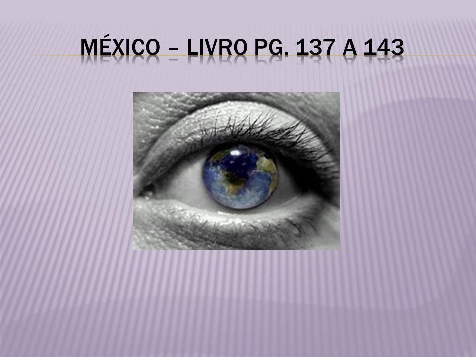 México – livro pg. 137 a 143