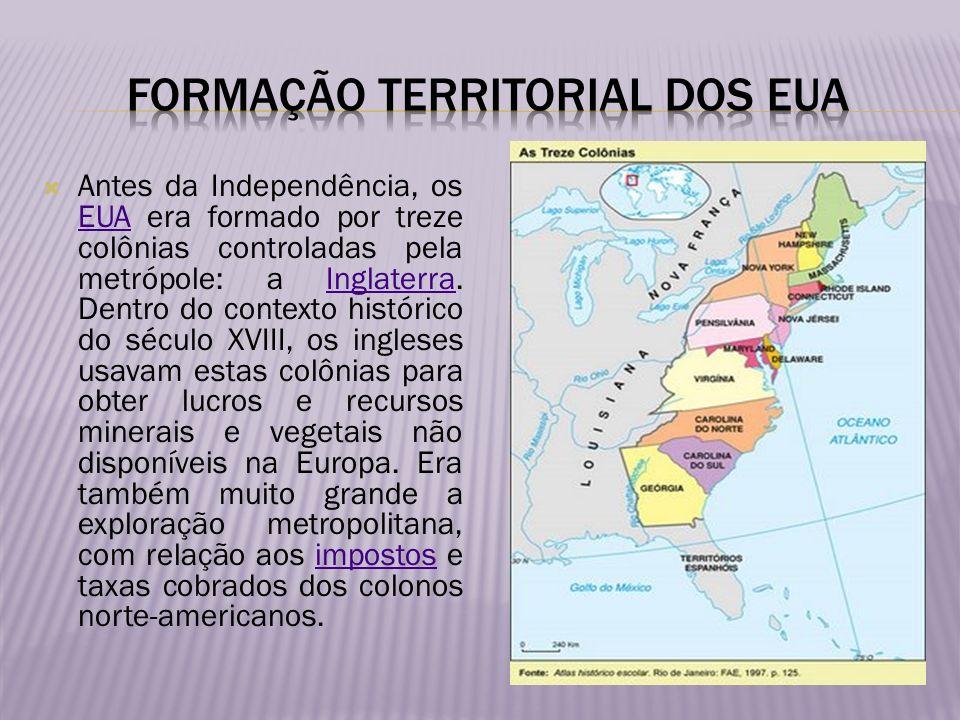 Formação territorial dos Eua