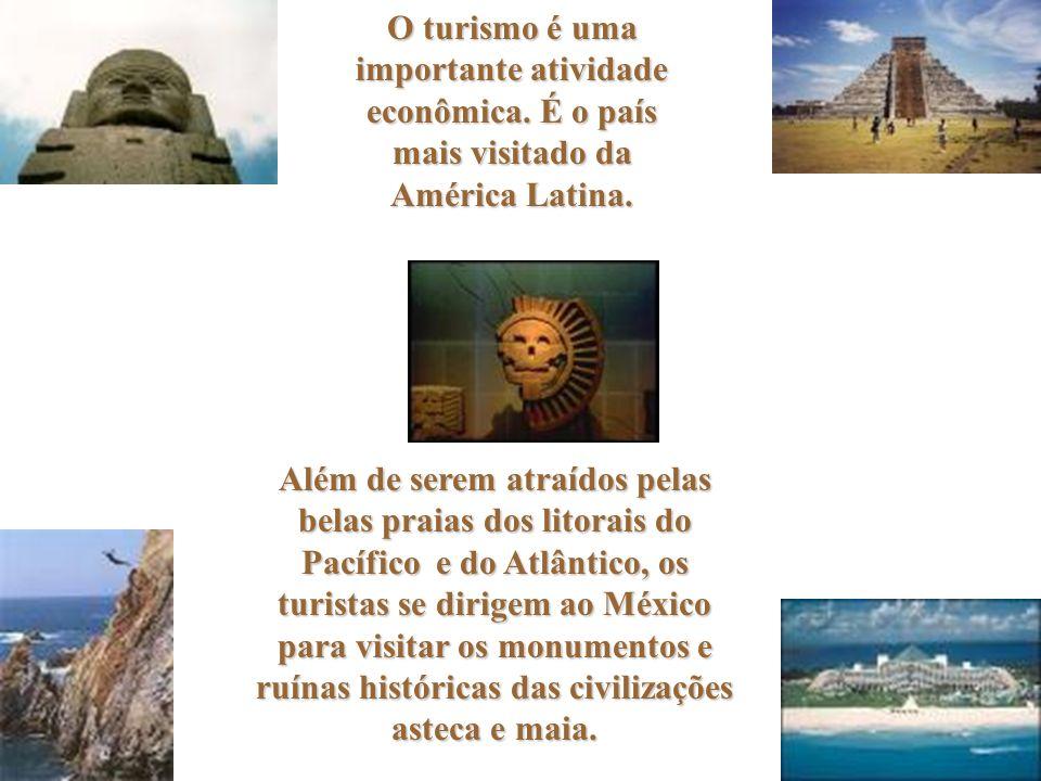 O turismo é uma importante atividade econômica