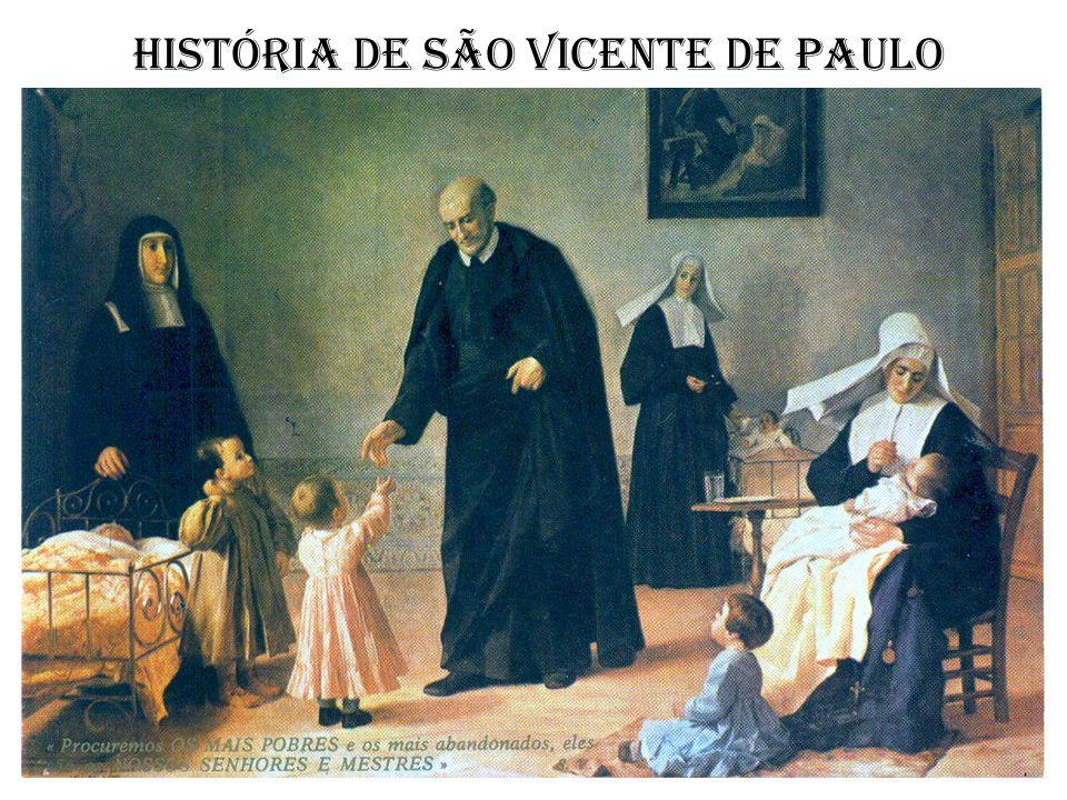 História de São Vicente de Paulo