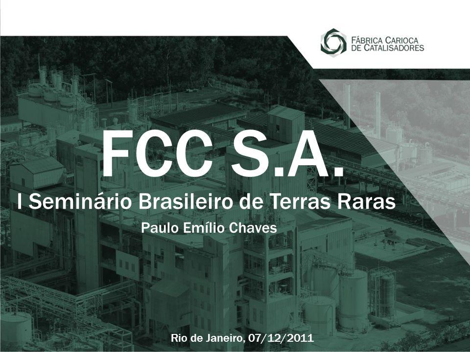 I Seminário Brasileiro de Terras Raras