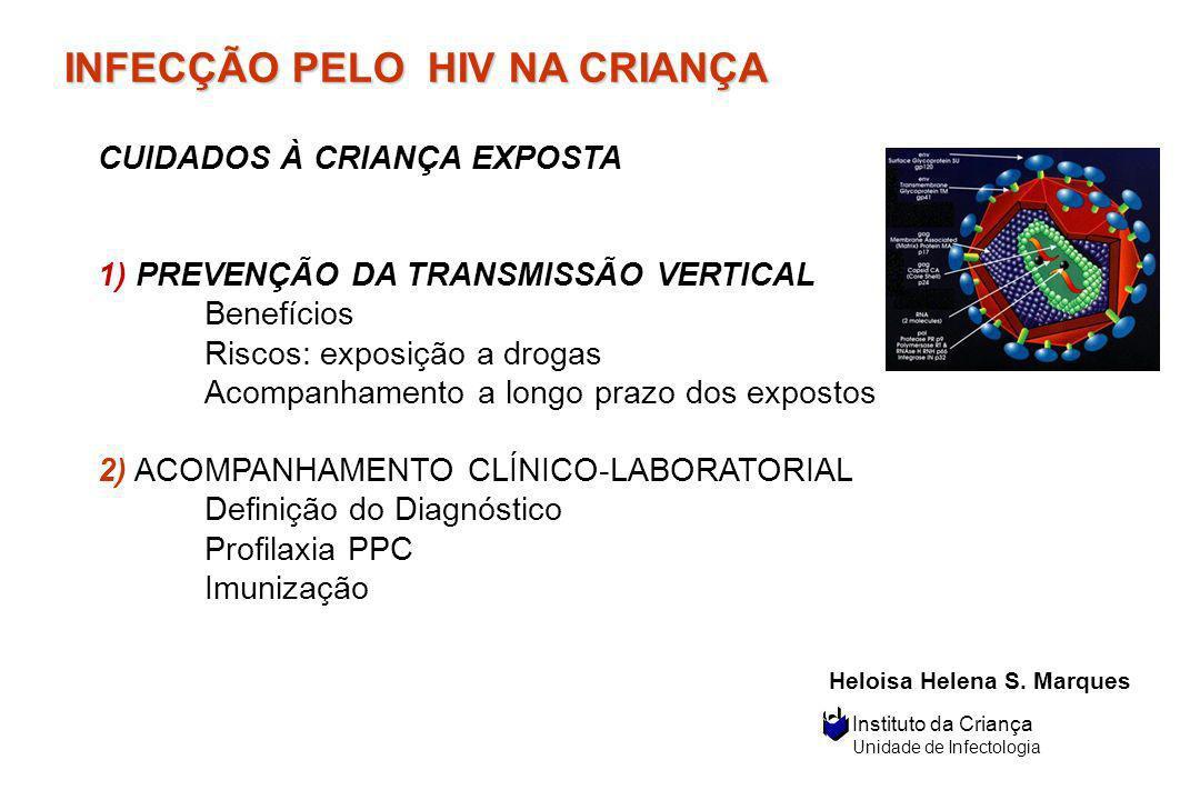 INFECÇÃO PELO HIV NA CRIANÇA