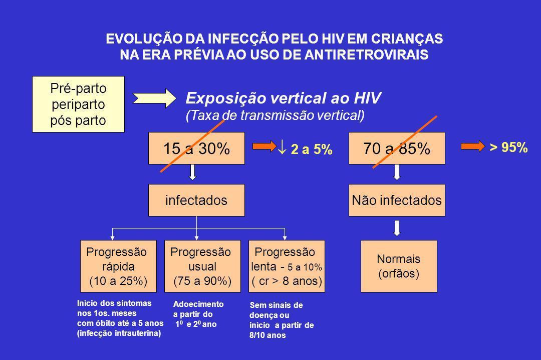 Exposição vertical ao HIV