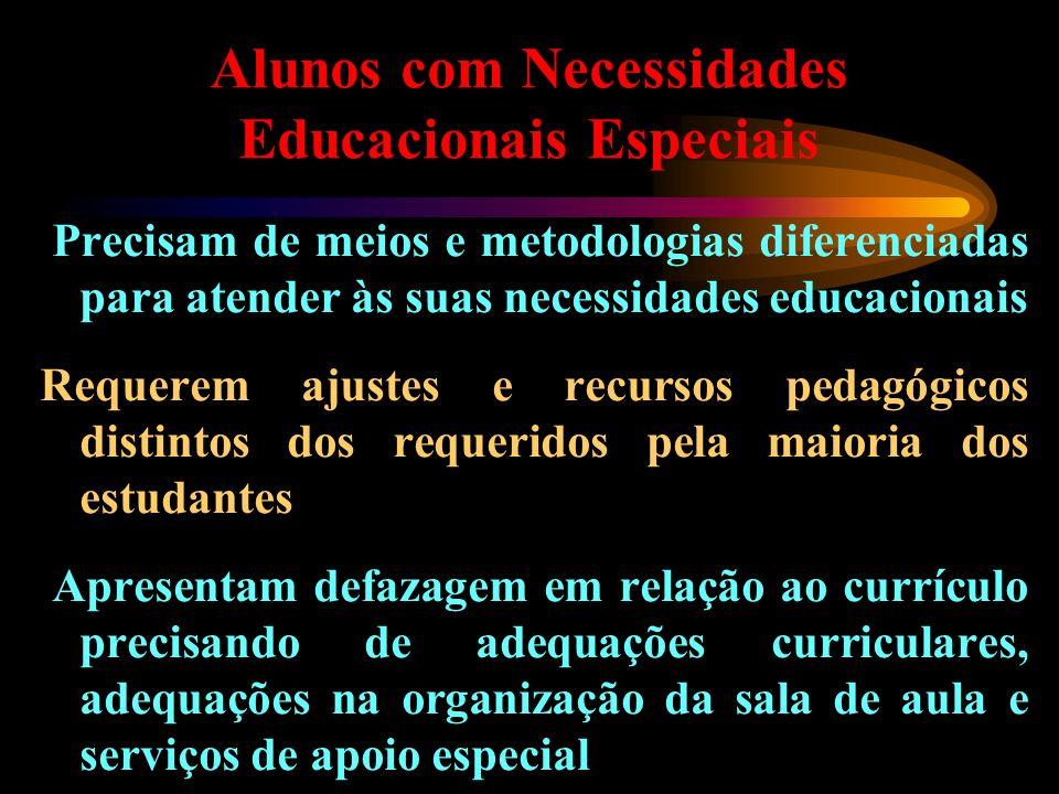Alunos com Necessidades Educacionais Especiais