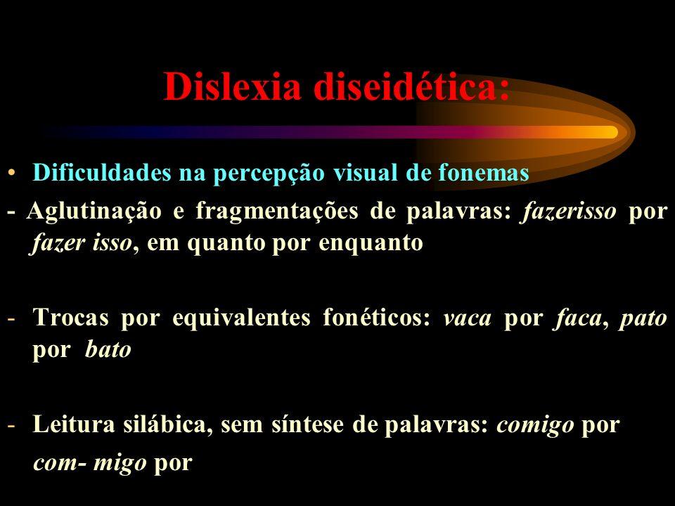 Dislexia diseidética: