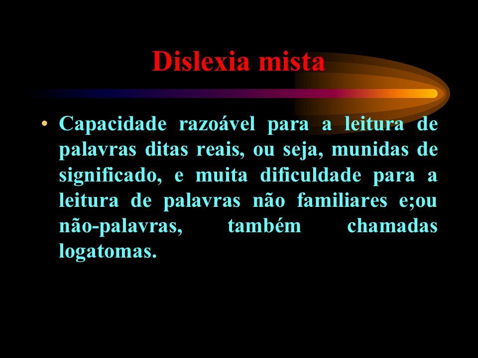 Dislexia mista