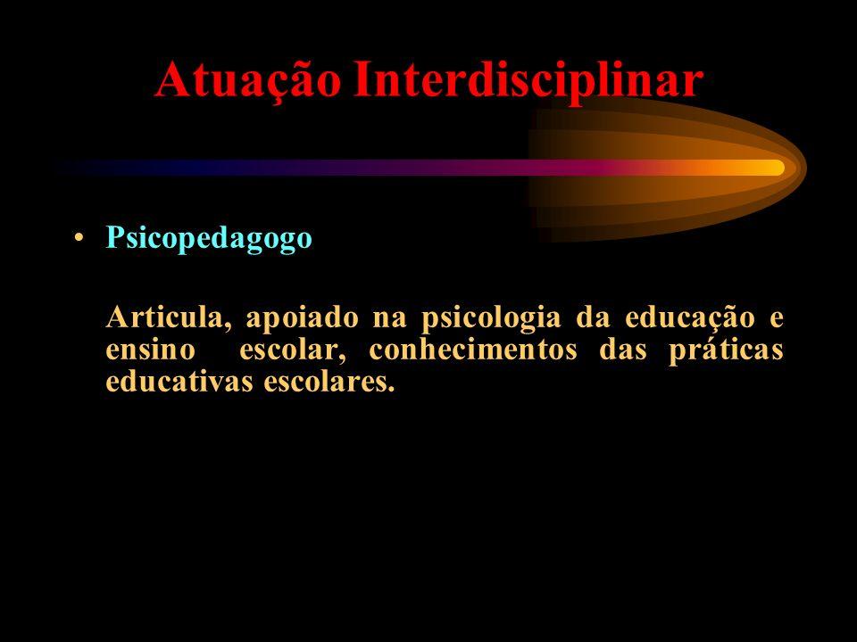 Atuação Interdisciplinar