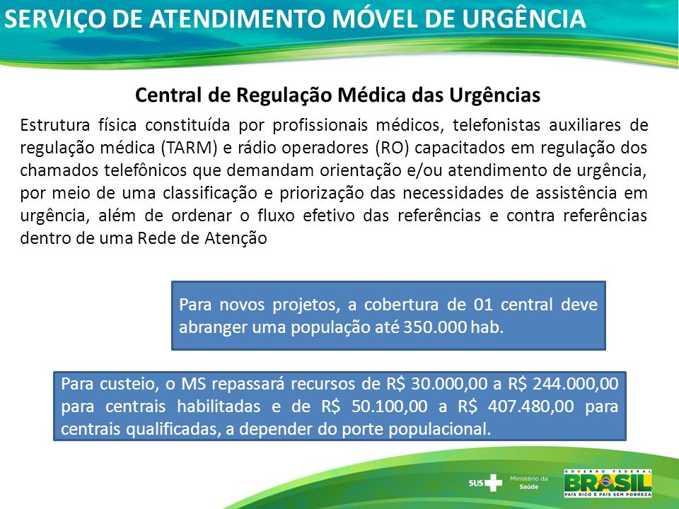 Central de Regulação Médica das Urgências