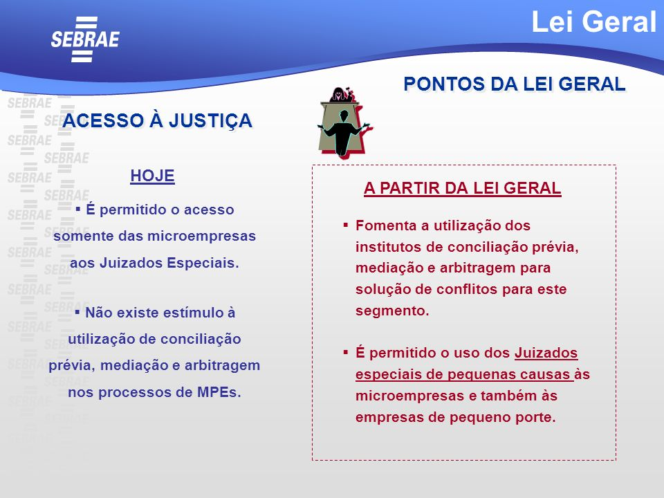 É permitido o acesso somente das microempresas aos Juizados Especiais.