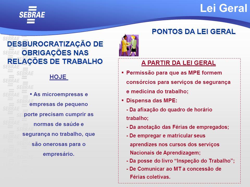 DESBUROCRATIZAÇÃO DE OBRIGAÇÕES NAS RELAÇÕES DE TRABALHO