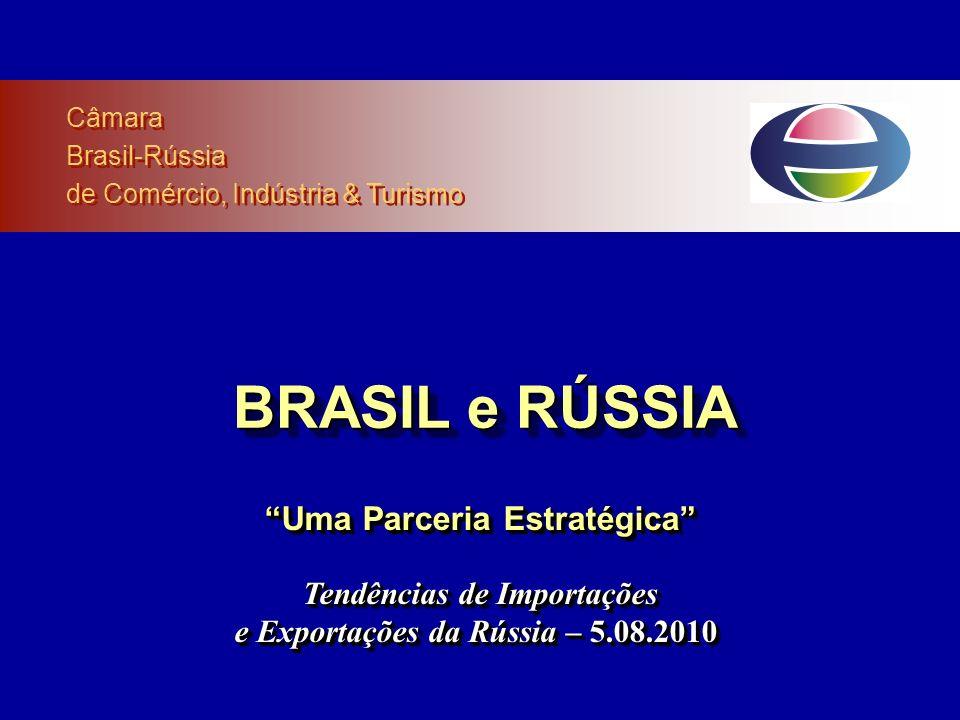 BRASIL e RÚSSIA Uma Parceria Estratégica