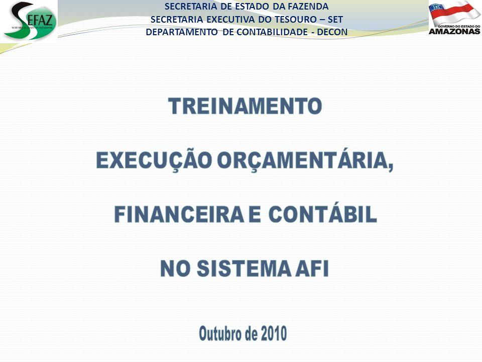 EXECUÇÃO ORÇAMENTÁRIA,