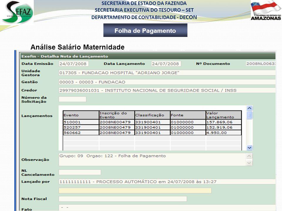 EXECUÇÃO ORÇAMENTÁRIA, FINANCEIRA E CONTÁBIL NO SISTEMA AFI