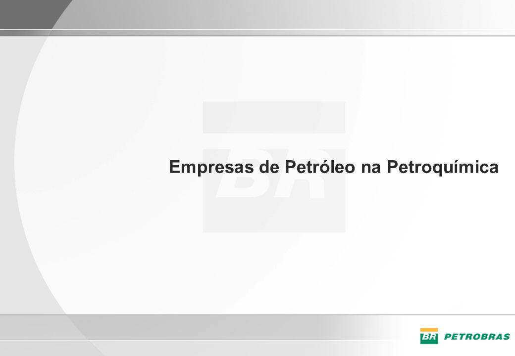 Empresas de Petróleo na Petroquímica