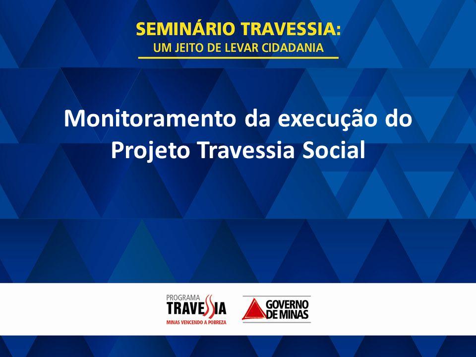 Monitoramento da execução do Projeto Travessia Social
