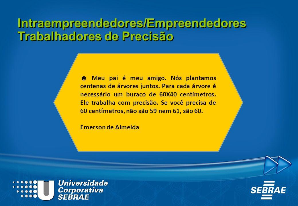 Intraempreendedores/Empreendedores Trabalhadores de Precisão
