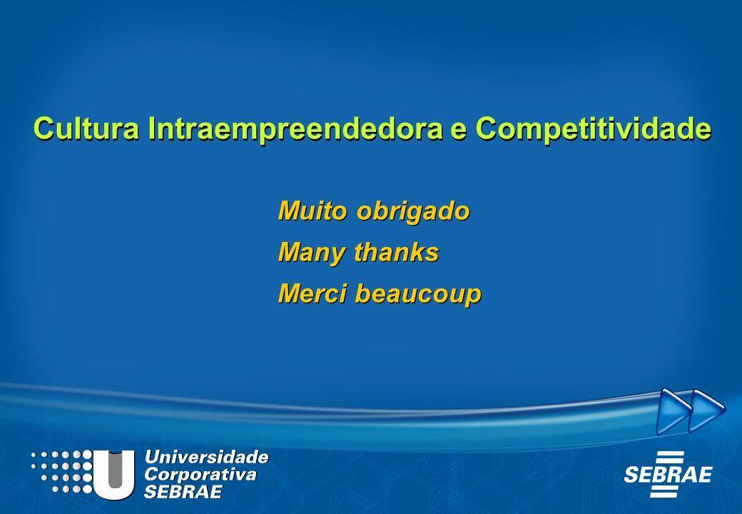 Cultura Intraempreendedora e Competitividade