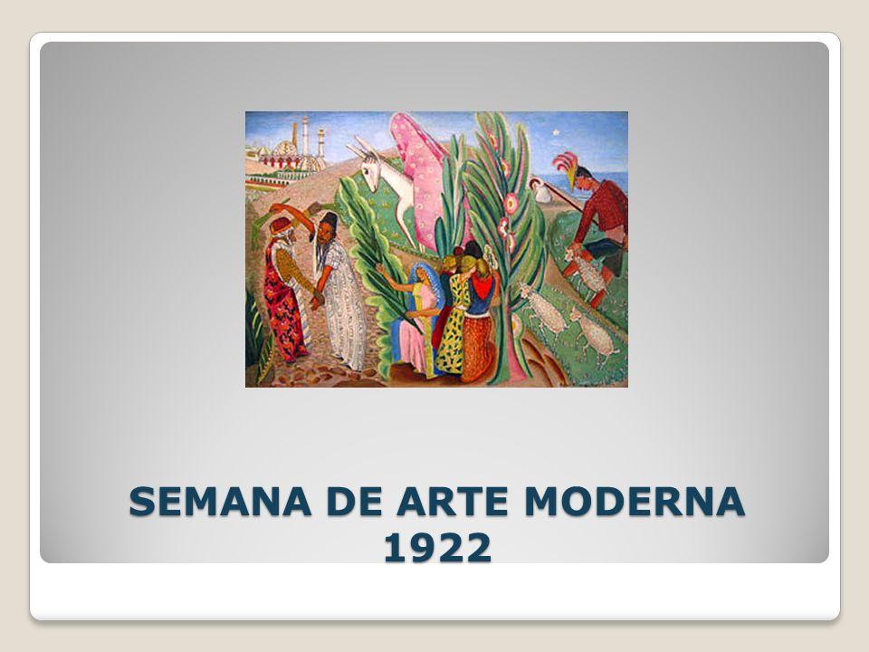 SEMANA DE ARTE MODERNA 1922