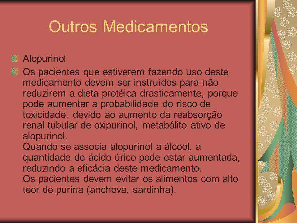 Outros Medicamentos Alopurinol