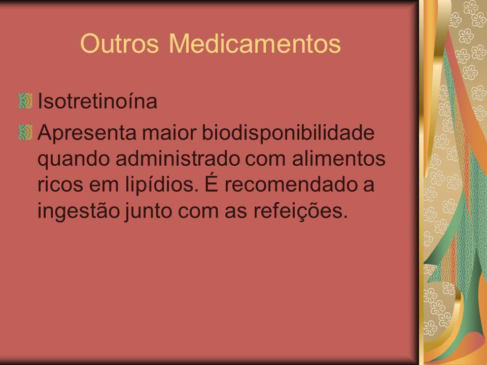 Outros Medicamentos Isotretinoína