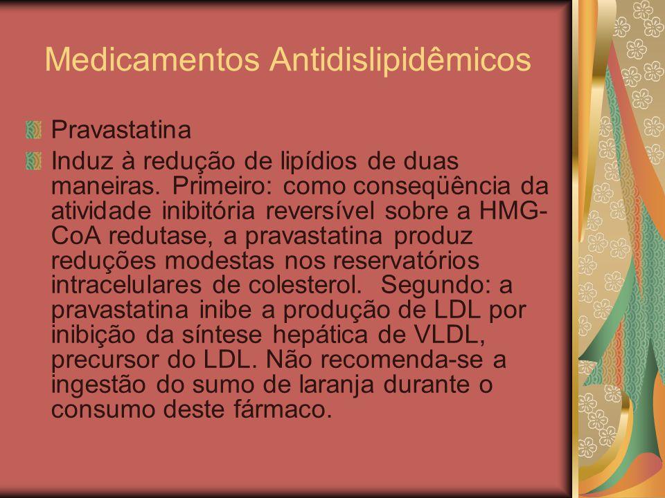Medicamentos Antidislipidêmicos
