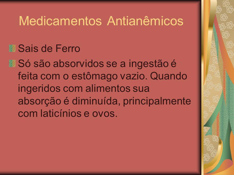 Medicamentos Antianêmicos