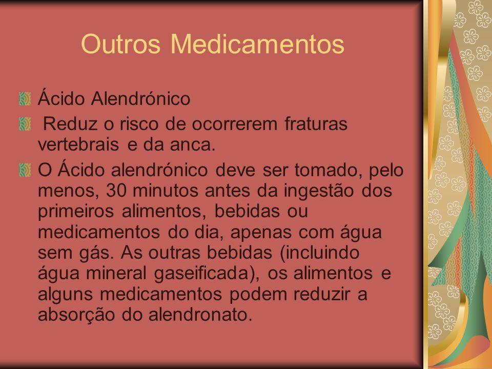 Outros Medicamentos Ácido Alendrónico