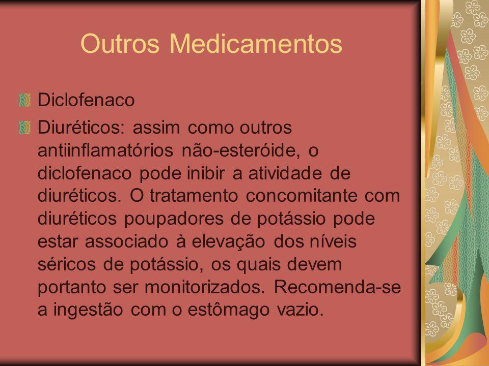 Outros Medicamentos Diclofenaco