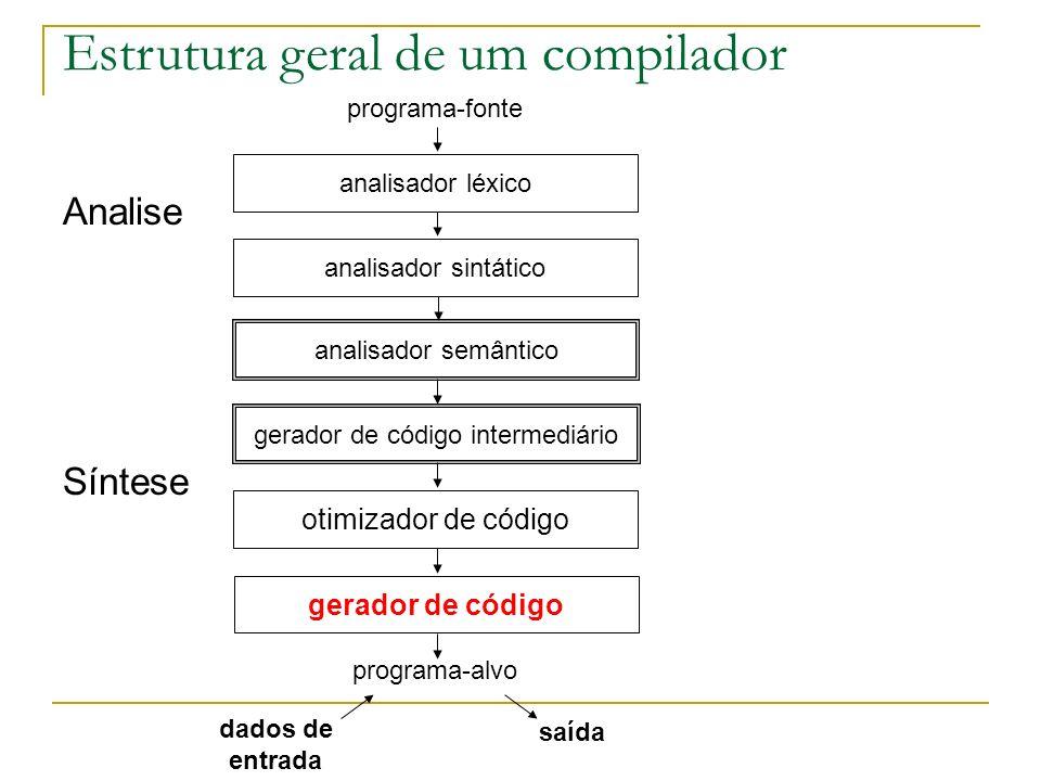 gerador de código intermediário