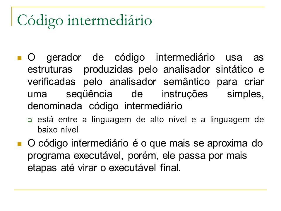 Código intermediário