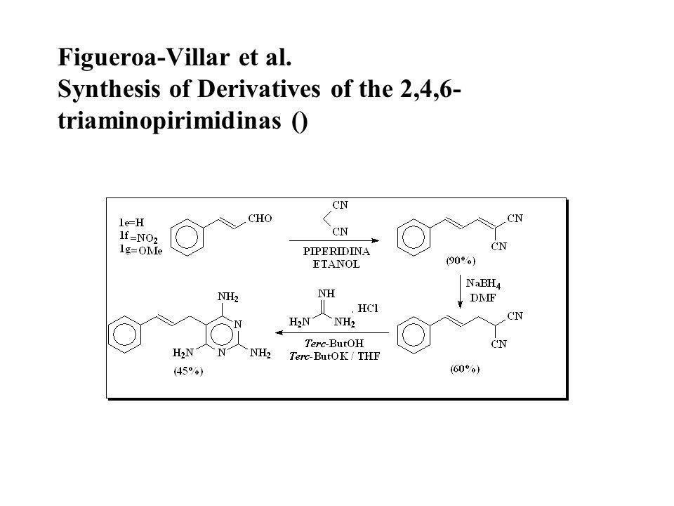 Figueroa-Villar et al. Synthesis of Derivatives of the 2,4,6-triaminopirimidinas ()