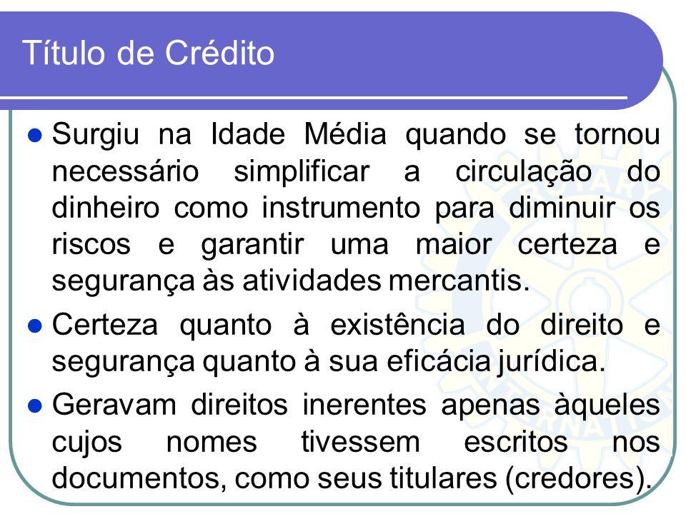 Título de Crédito