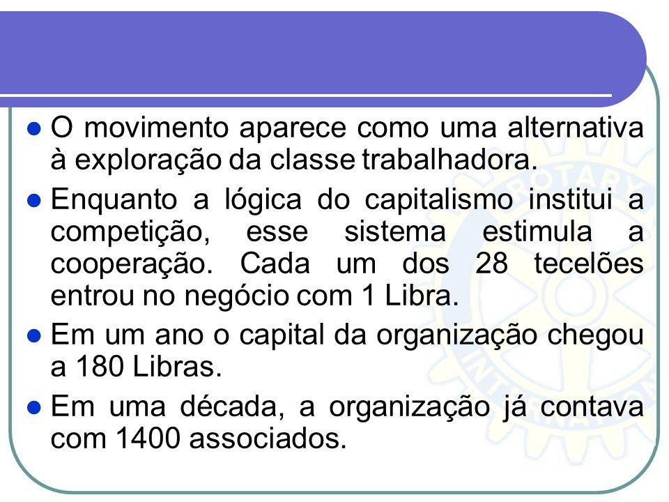 O movimento aparece como uma alternativa à exploração da classe trabalhadora.