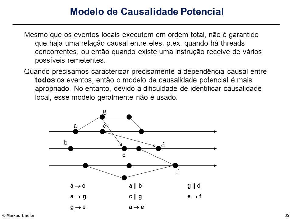 Modelo de Causalidade Potencial