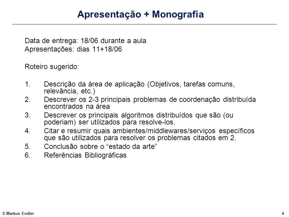 Apresentação + Monografia