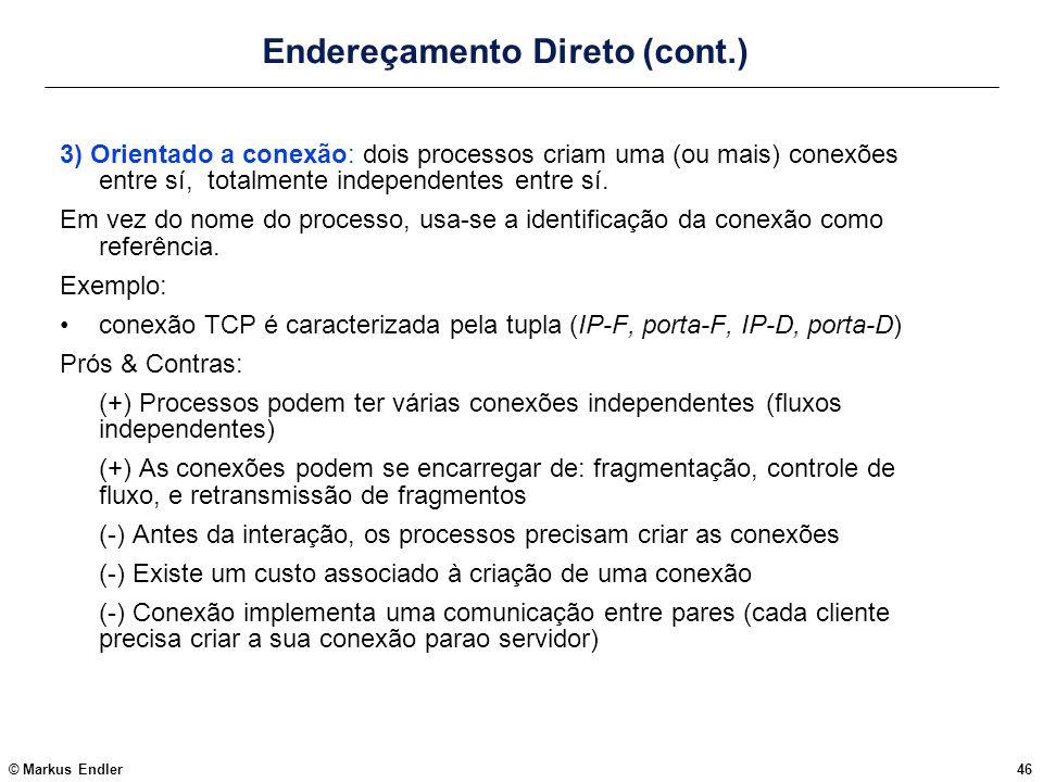 Endereçamento Direto (cont.)