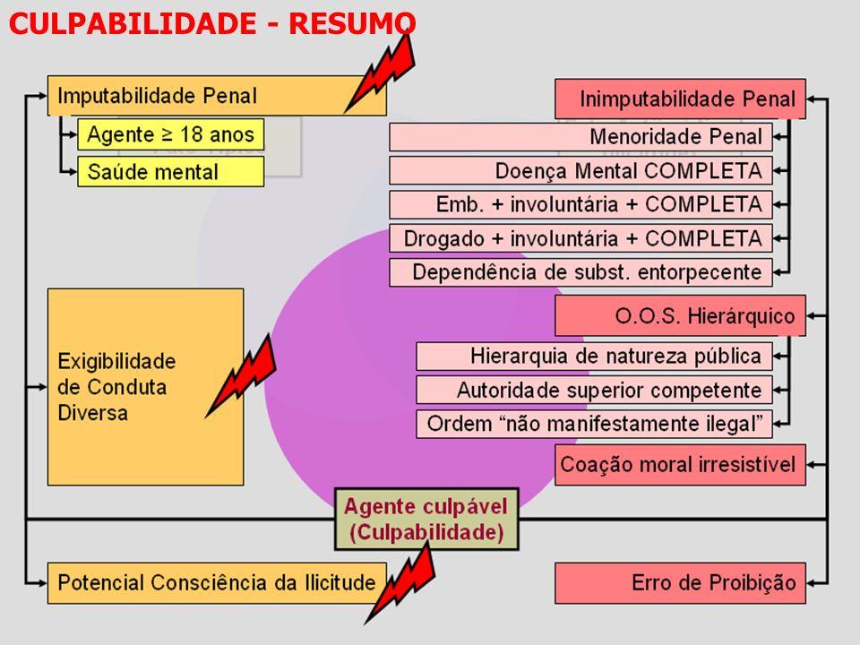 CULPABILIDADE - RESUMO