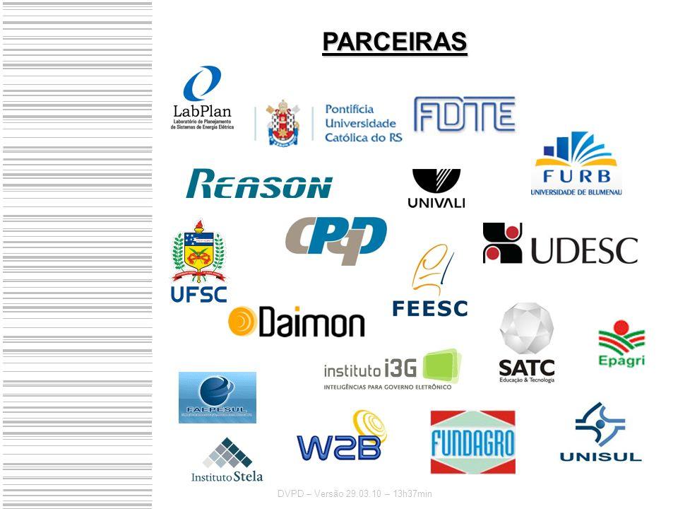 PARCEIRAS DVPD – Versão 29.03.10 – 13h37min