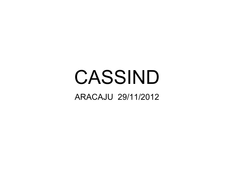 CASSIND ARACAJU 29/11/2012