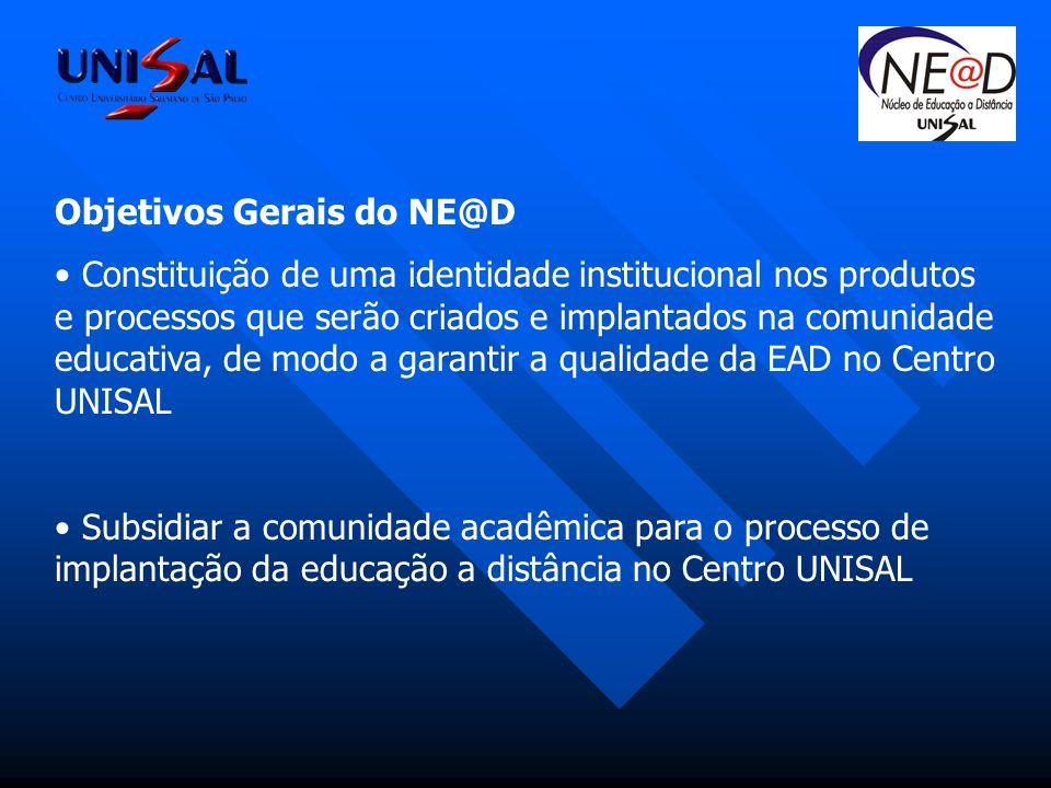 Objetivos Gerais do NE@D