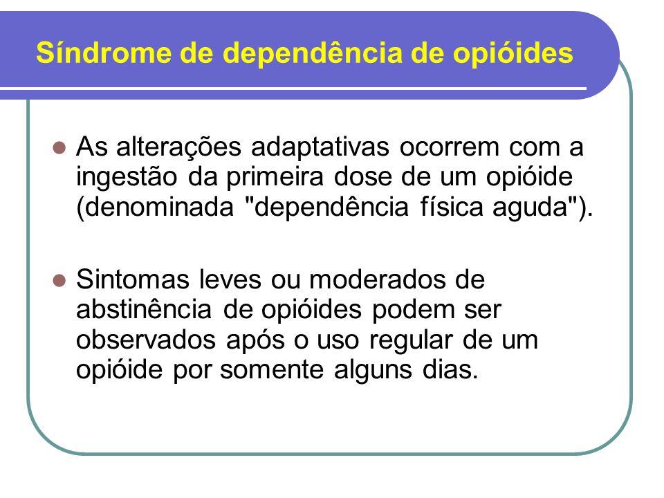 Síndrome de dependência de opióides
